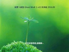 新萝卜家园Ghost Win8.1 32位 纯净版 2016年09月