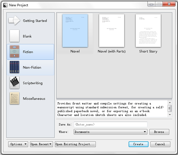 Scrivener(写作辅助软件) V1.8.5
