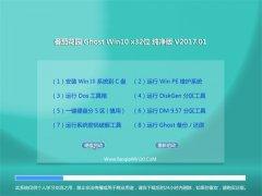 番茄花园Ghost Win10 x32位 安全纯净版v201701(永久激活)