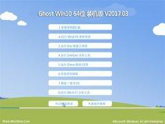 技术员联盟Ghost Win10 64位 安全装机版V2017年03月(无需激活)