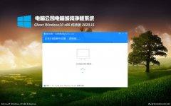 电脑公司Ghost Win10x86 超纯纯净版V2020.11月(免激活)